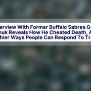 Laura Kaeppeler Clint Malarchuk WGRZ Buffalo Sabres