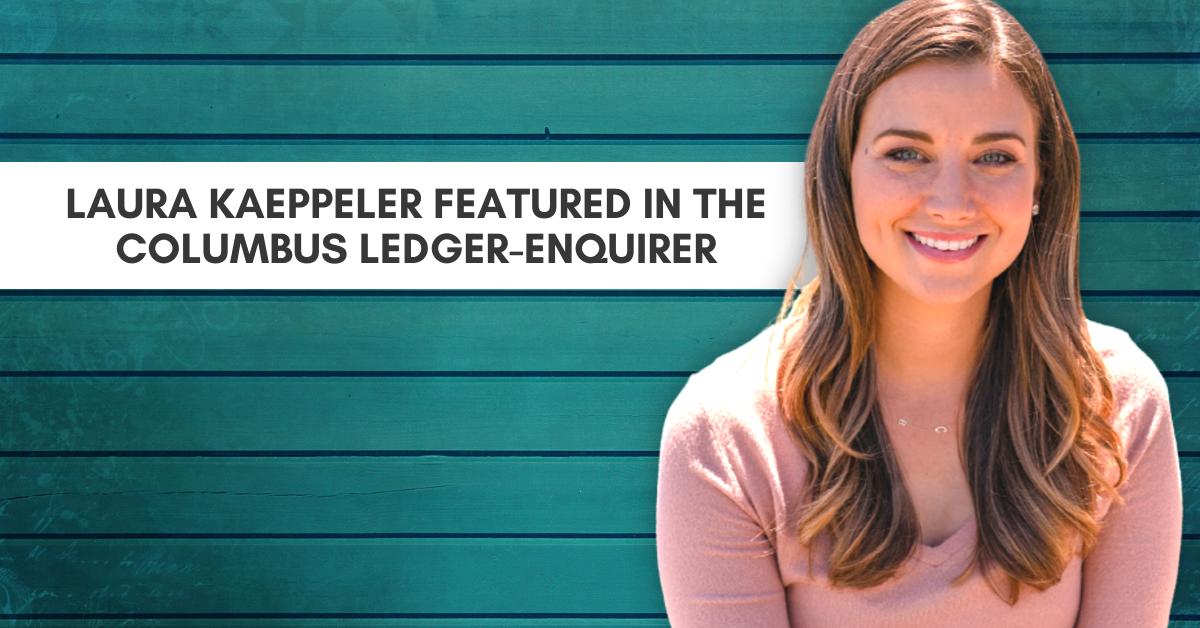 Laura Kaeppeler Featured In The Columbus Ledger-Enquirer
