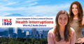 Laura Kaeppeler Gina Lombardi Health Interruptions KLZ Radio Denver Colorado