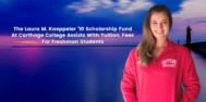 Laura Kaeppeler Scholarship